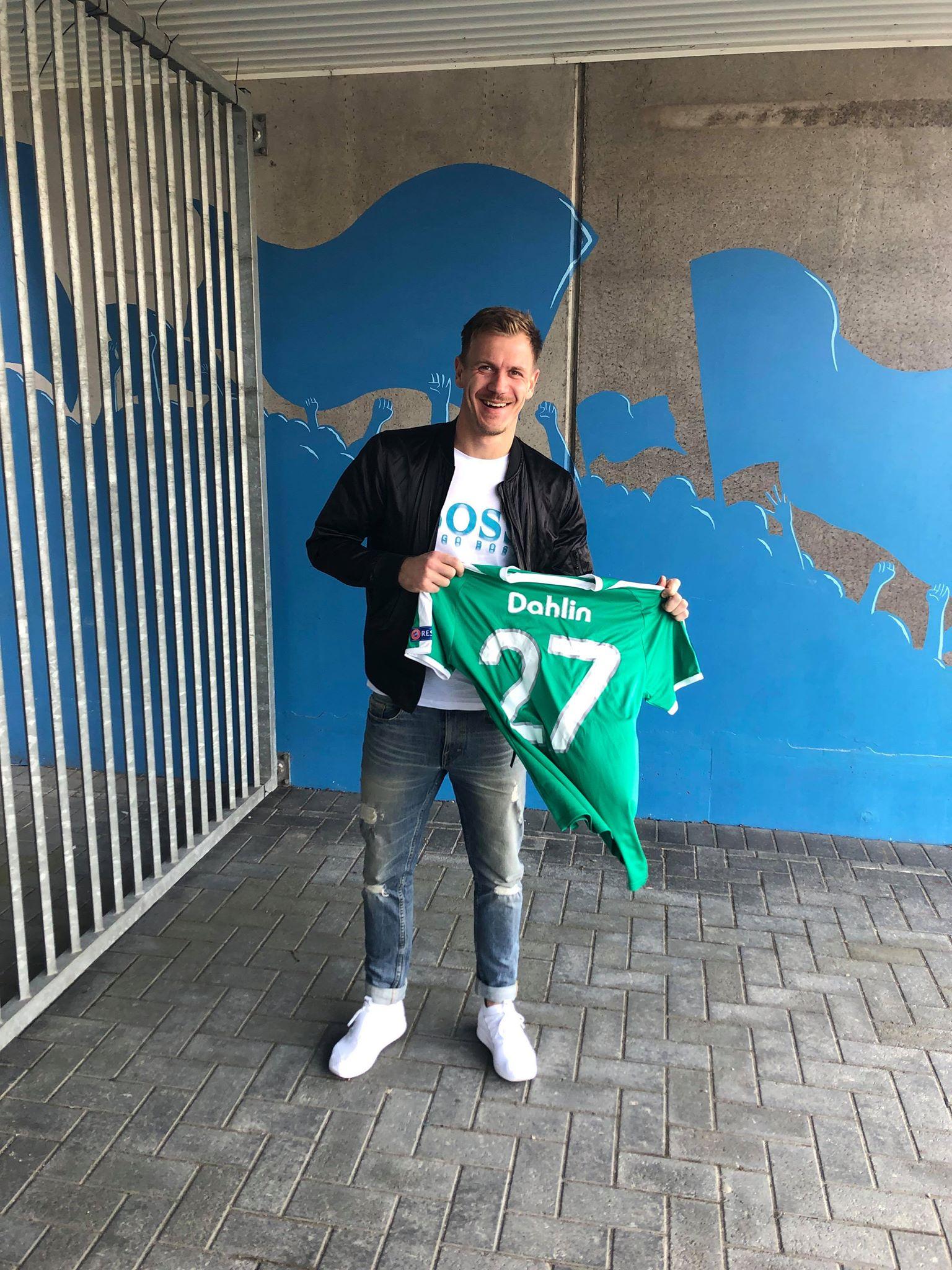 Johan Dahlins Europa League Tröja Signerad av hela truppen