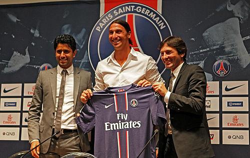 Zlatan Ibrahimović  Signerad Matchtröja PSG