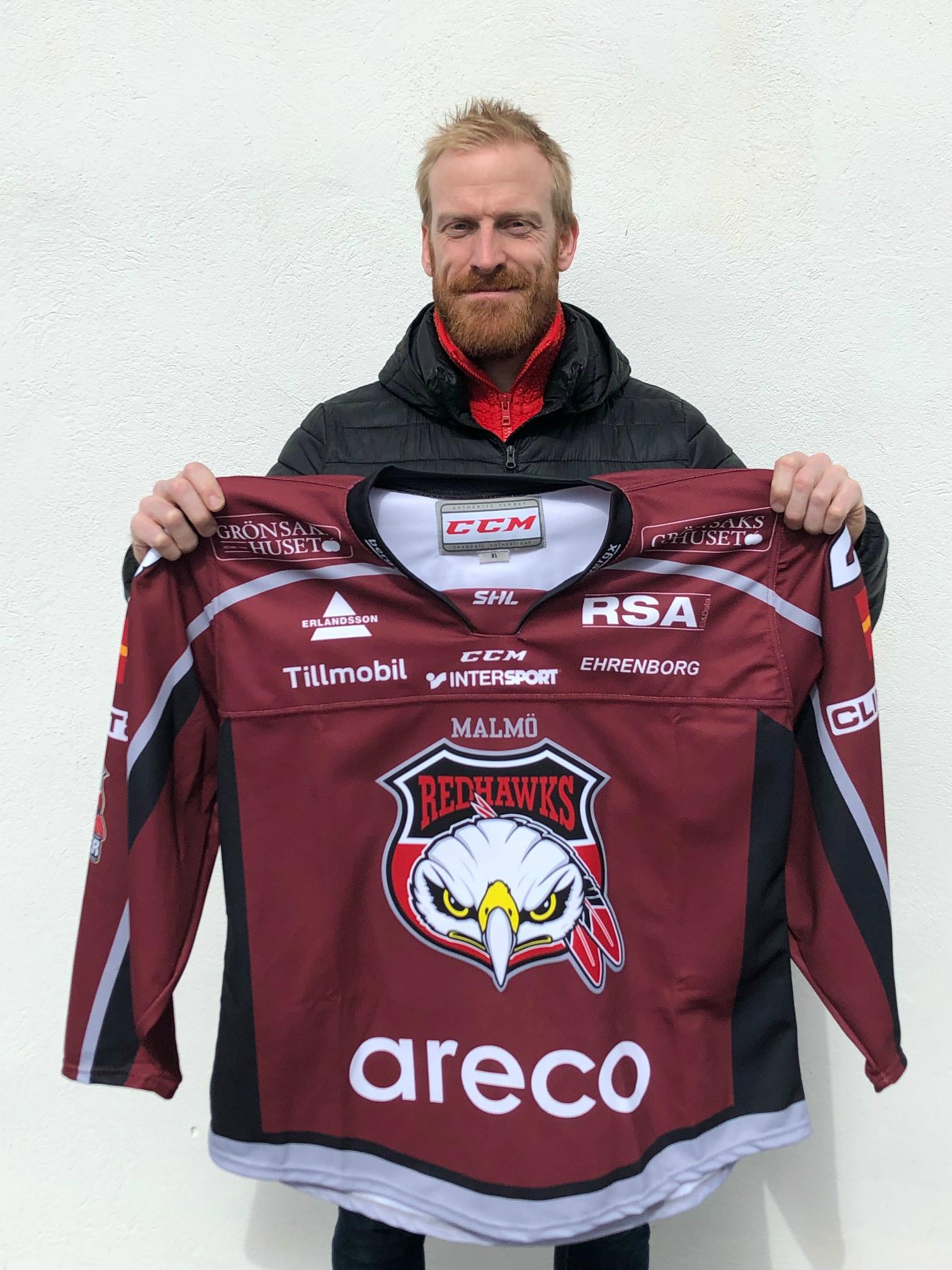 Jens Olssons Signerad Matchtröja från Movembermatchen 2019